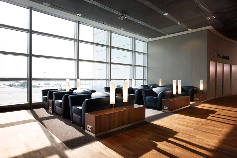 Lufthansa Business Lounge Design