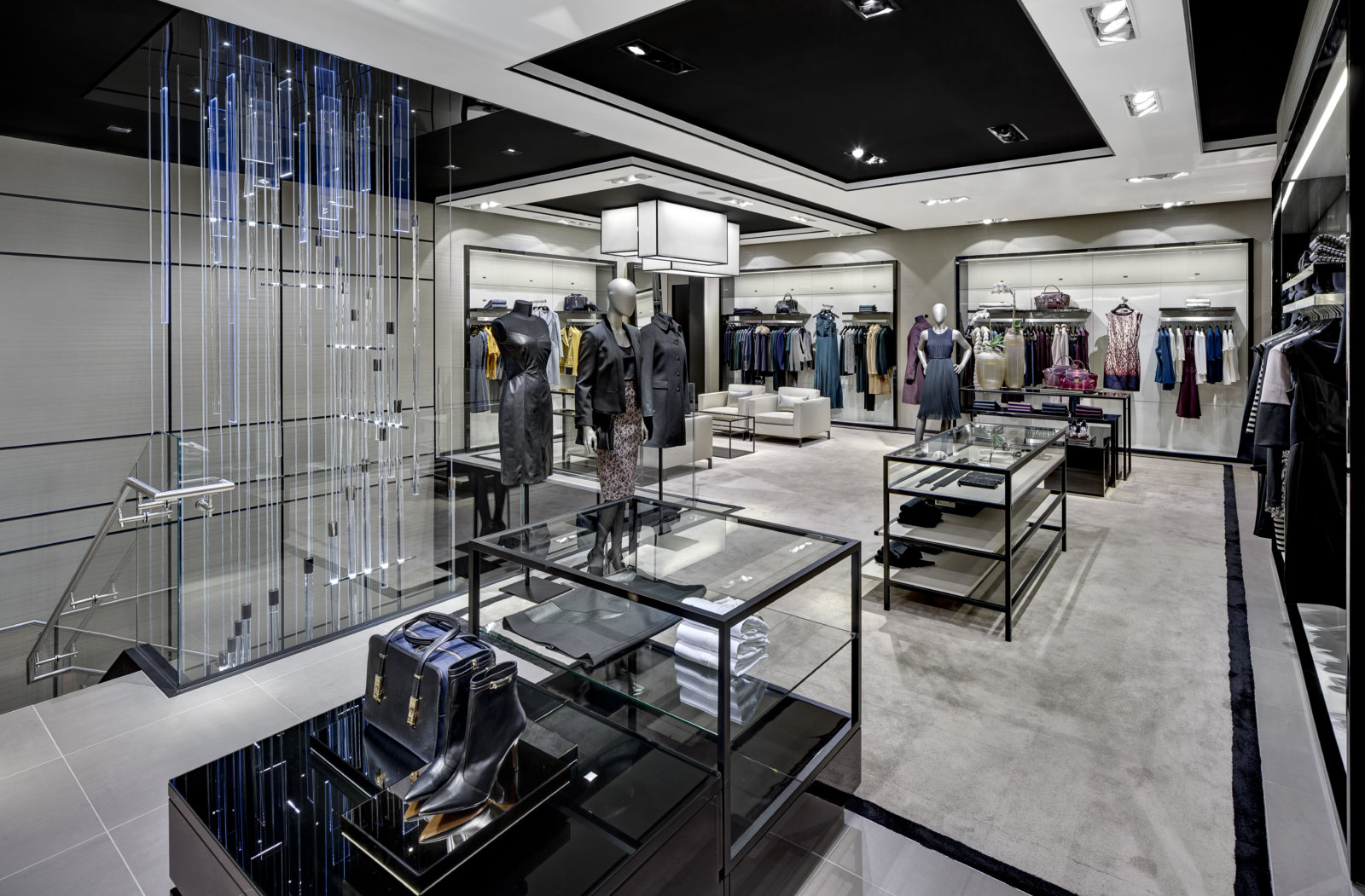 boss flagship store new york columbus store hollin. Black Bedroom Furniture Sets. Home Design Ideas