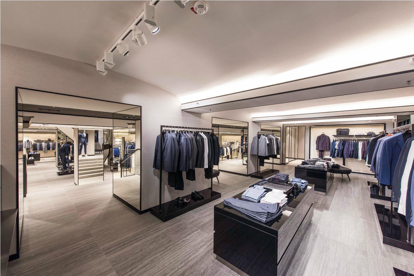 Perfect BOSS Store Hamburg Neuer Wall